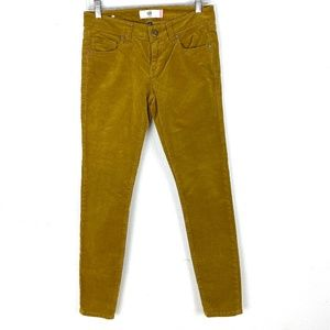 Cabi Skinny Corduroy Pants jean Umber 3197 stretch